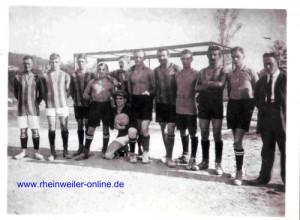 Die 1. Mannschaft von 1922
