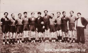 Mannschaft aus den 50er Jahren