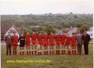 Die A-Jugend 1970